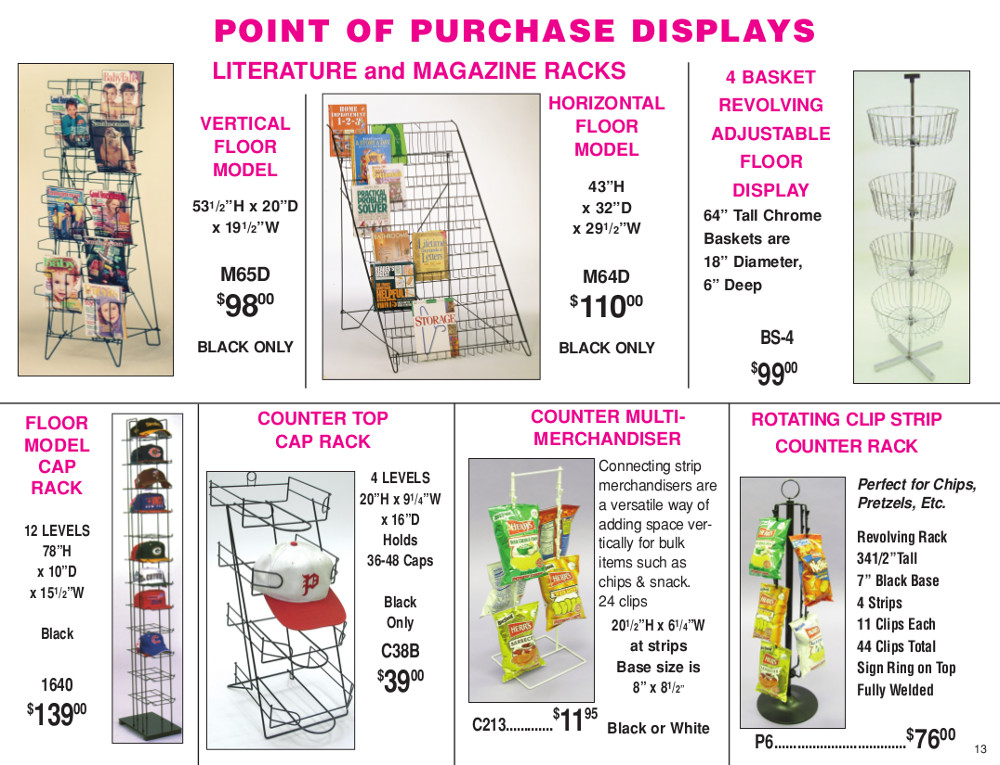 M.E./D.E. 2015 Page 13 - Point of Purchase Displays