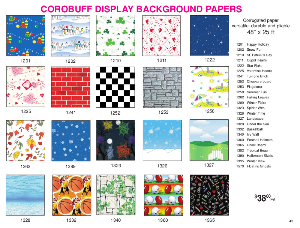 M.E./D.E. 2015 Page 43 - Corobuff Display Background Papers