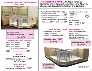 M.E./D.E. 2015 Page 3 - Showcases & Wall Units