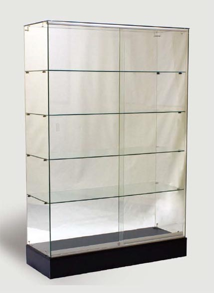 All Glass Full Vision Wall Unit